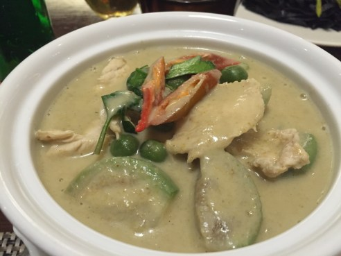 Thai Green Chicken Curry - Bangkok - Thailand