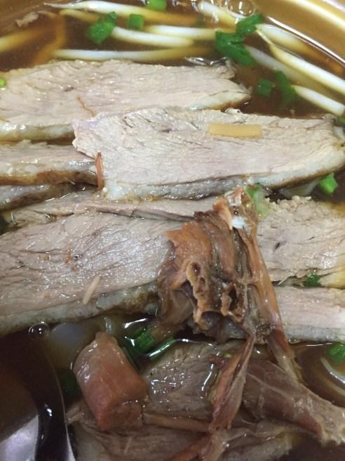 Duck Noodle Soup - Thai Food - Bangkok Thailand - eating local food