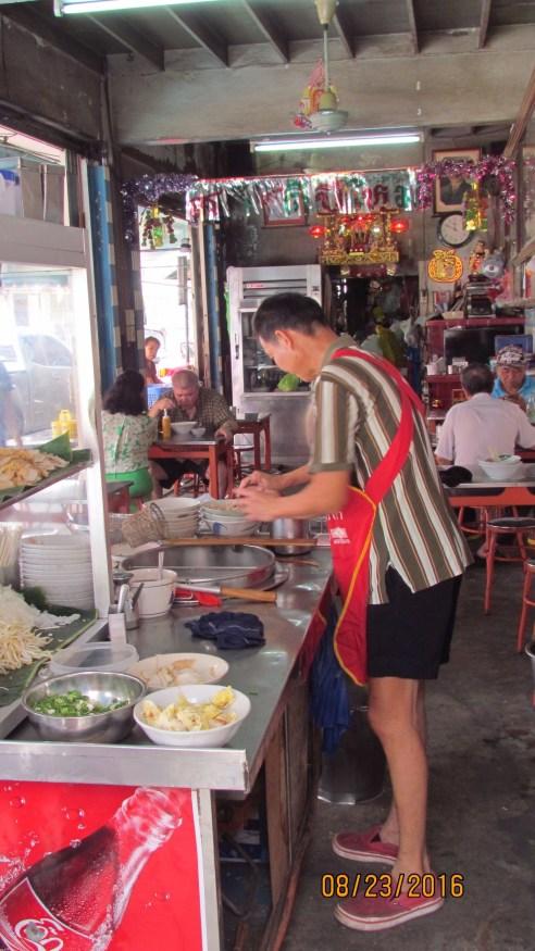 Thai Street Food - Bangkok - Noodle Soup