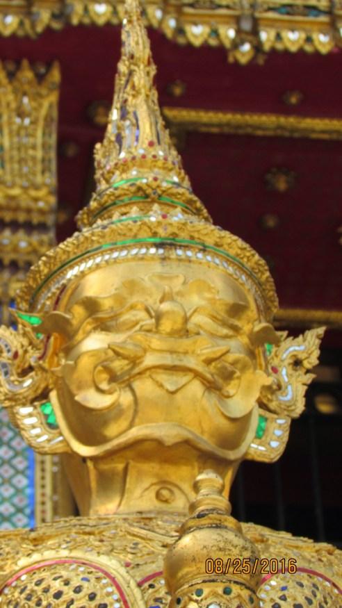 Royal Grand Palace - Bangkok - Thailand - sculptures- mosaics