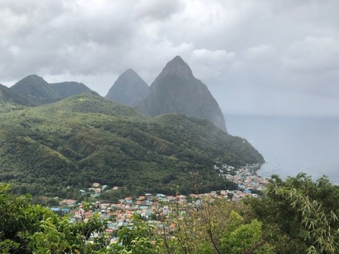 St Lucia - pitons - Cosol Tours - travel blogger