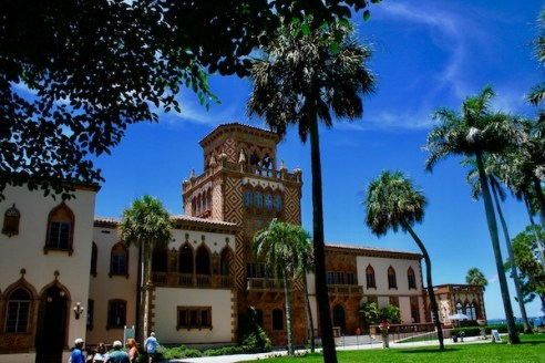 John Ringling- The Ringling – Ca d'Zan – The Ringling Mansion – Sarasota Florida- State Art Museum of Florida - Venetian Gothic Architecture