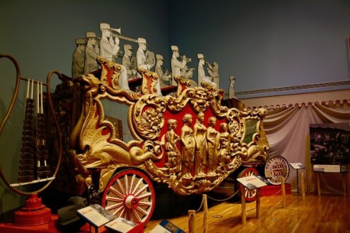 John Ringling- The Ringling – Ca d'Zan – The Ringling Mansion – Sarasota Florida- State Art Museum of Florida - Circus Museum - Ringling Bros and Barnum & Bailey - parade wagons - vintage circus wagons