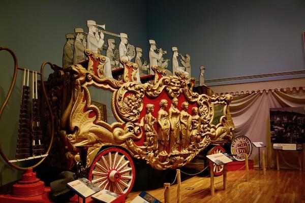 John Ringling- The Ringling – Ca d'Zan – The Ringling Mansion – Sarasota Florida- State Art Museum of Florida - Circus Museum - Ringling Bros and Barnum & Bailey - parade wagons - vintage circus wagons