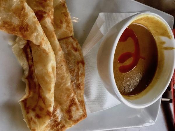 Hawkers Asian Street Food - St Petersburg restaurants - Street Food - St Pete food scene - Food Blogger - Travel Blogger- Roti Canai -
