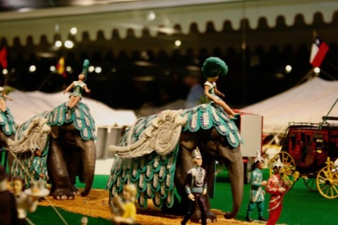 John Ringling- The Ringling – Ca d'Zan – The Ringling Mansion – Sarasota Florida- State Art Museum of Florida - Circus Museum - Howard Bros miniature circus- Howard Tibbals - elephants