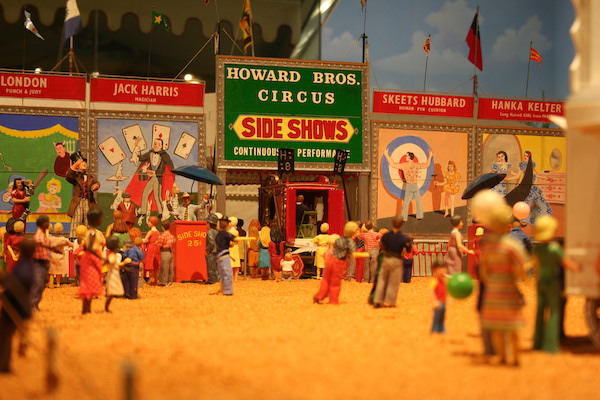 John Ringling- The Ringling – Ca d'Zan – The Ringling Mansion – Sarasota Florida- State Art Museum of Florida - Circus Museum - Howard Bros miniature circus- Howard Tibbals - the side show