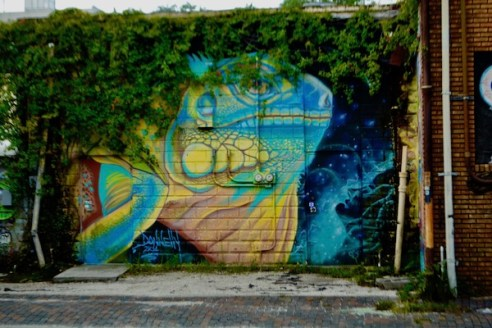 Saint paint Arts - Derek Donnelly - St Pete Murals - St Petersburg Florida