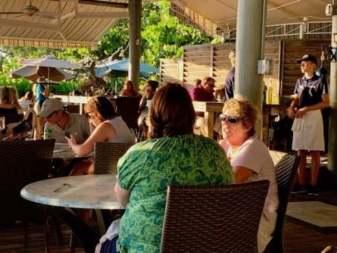 The Sandbar Restaurant - Anna Maria Island - Gulf of Mexico - sunset - sunset on the Gulf of Mexico - outdoor dining