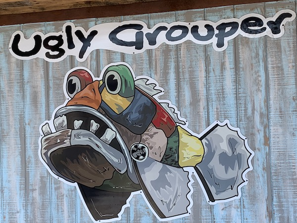 The Ugly Grouper - Anna Maria Island - fresh Florida seafood - grouper - food blog - travel blog