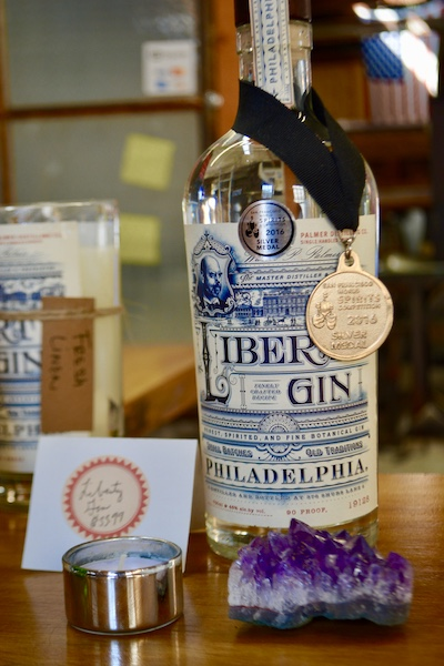 Liberty Gin - Gin - W P Palmer Distilling Co - craft cocktails - award winning gin - craft spirits