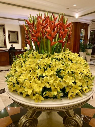 Eros New Delhi Hotel Nehru Place - Eros Hotel - Nehru Place - foyer arrangement