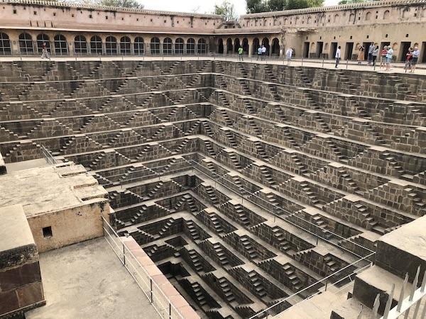Abhaneri - Chand Baori - Chand Baori Stepwell - step well - Rajasthan - India - Mark and Chuck's Adventures