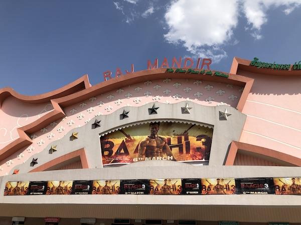 Raj Mandir - Jaipur movie theater - Jaipur cinema - Jaipur - Mark and Chuck's Adventures, India, India travel