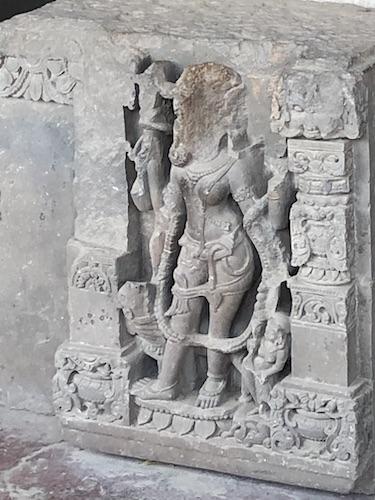 Abhaneri - Chand Baori - Chand Baori Stepwell - step well - Rajasthan - India - Mark and Chuck's Adventures - sculptures at Chand Baori
