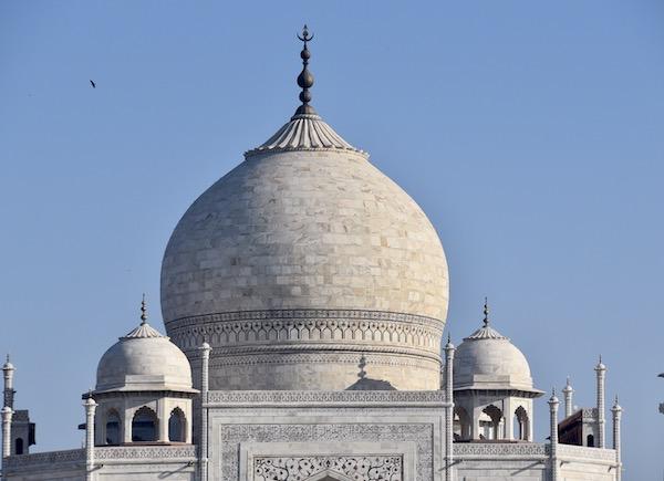 Mark and Chuck's Adventures - India trip - Taj Mahal - Taj Mahal dome - Agra