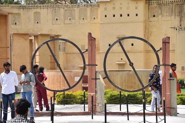 Jantar Mantar Observatory - astronomy - astronomical observatory - Jaipur - Jaipur, India - India vacation - Gate 1 Travel - Chakra Yantra