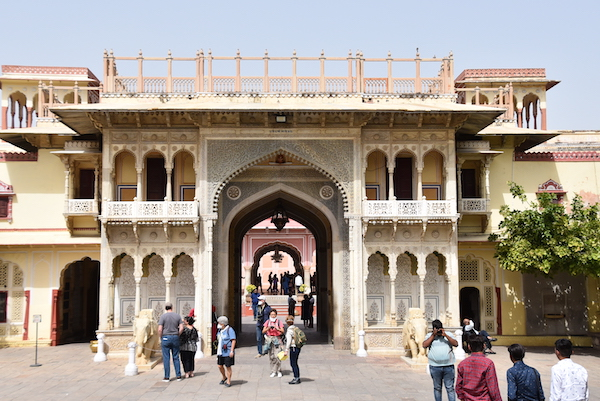 entrance to the Jaipur City Palace - Jaipur - India vacation