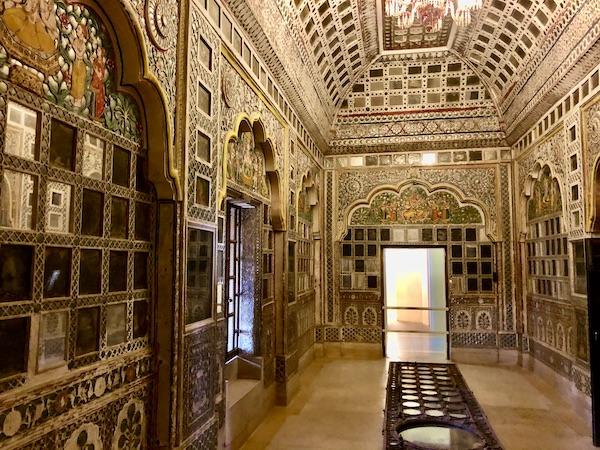 Sheesh Mahal - Hall of Mirrors - Mehrangarh Fort - Jodhpur
