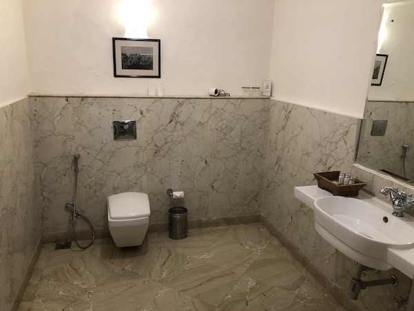 Jodhpur – Ranbanka Palace Hotel – India travel blog - bathroom