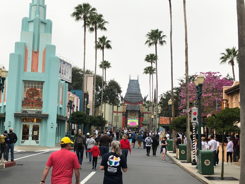 Hollywood Boulevard in Disney's Hollywood Studios