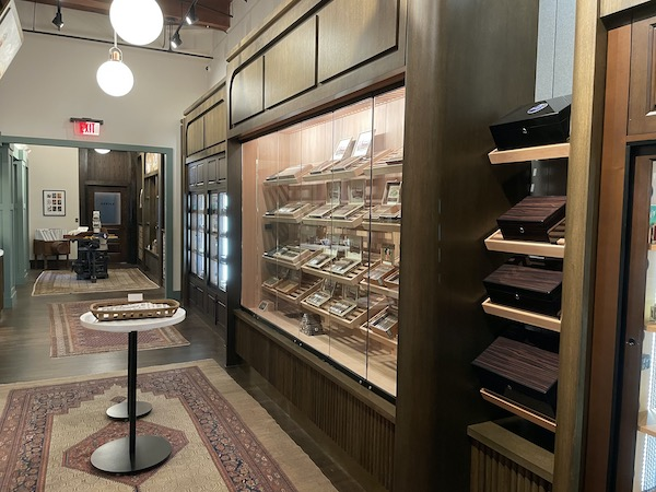 cigars inside the JC Newman Cigar Company factory store in Tampa Florida