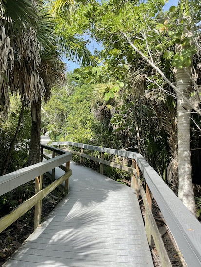 Sanibel Island -Sanibel Island Beaches - Bowman's Beach - Handicapped Accessible Beach
