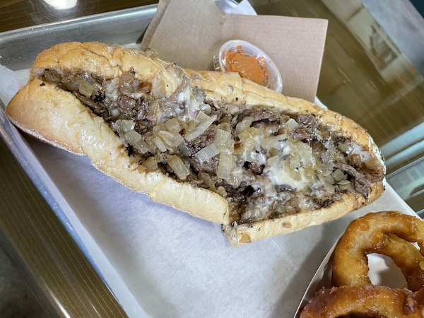 Tampa Bay's Best Cheesesteak from Philly Joe's in Clearwater Florida
