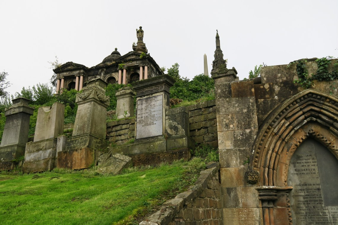The Victorian Necropolis in Glasgow