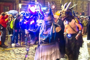 The Fire Festival in Edinburgh
