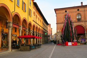 The Piazza in Imola, Italy
