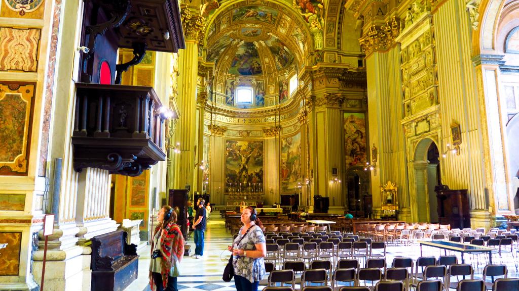 Chiesa San Andrea Delle Valle, Rome, Italy