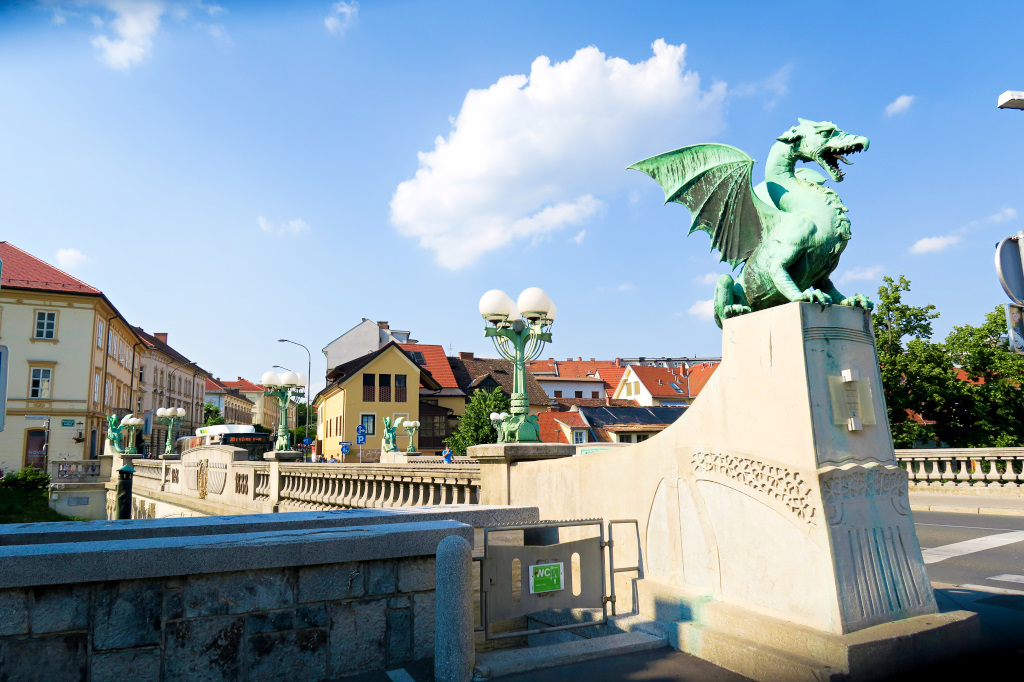 Dragons Bridge, Ljubljana