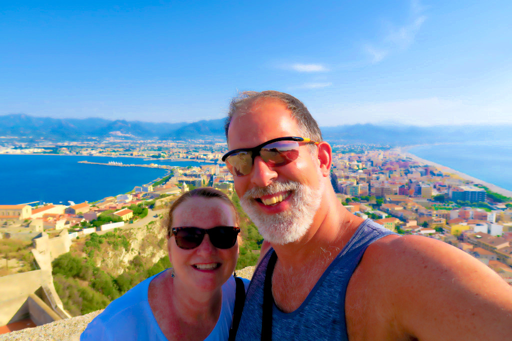 From the Castle overlooking Milazzo, Sicily