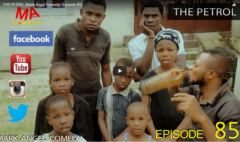 Very funny video - The petrol (Mark Angel Comedy episode 85)