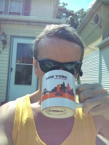 Savoring coffee in the sunshine. Because I can