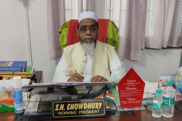 Dr. S.H Choudhury (Working President, Markazul Ma'arif)