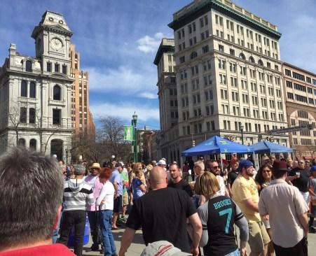 Big crowds on May 2.
