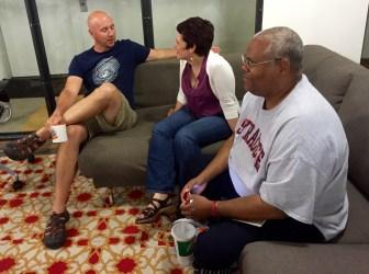 Britz, Giasante and Mitchell discuss life online.
