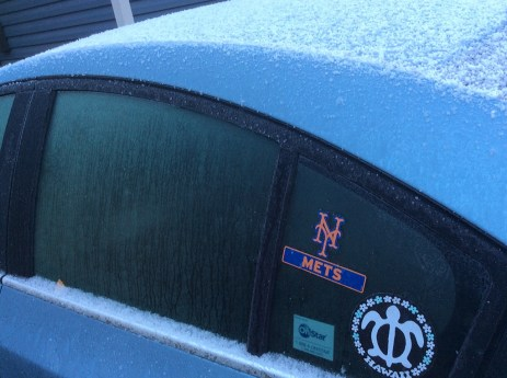 Yes, the Mets went up 1-0 in the NLCS series vs. the Cubs last night.