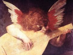 Angel With Guitar