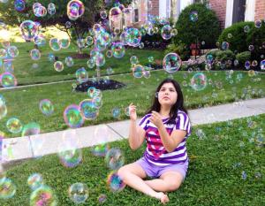 cassie and bubbles
