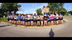 team seattle in prayer