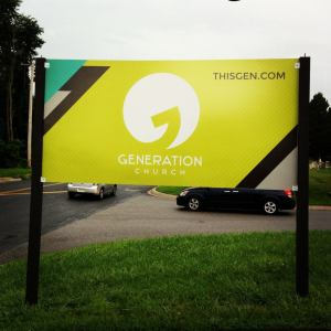 generation church sign