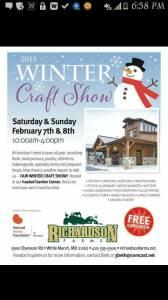 2015 winter craft show