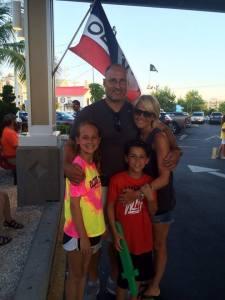 The Logwood Family: Jay, Ellen, Sara & Spencer