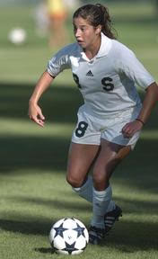 MSU midfielder Erin Konheim works the ball Friday at Old College Field versus Illinois.Mike Itchue/The State News