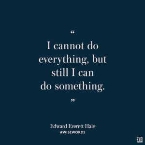 quote about doing something
