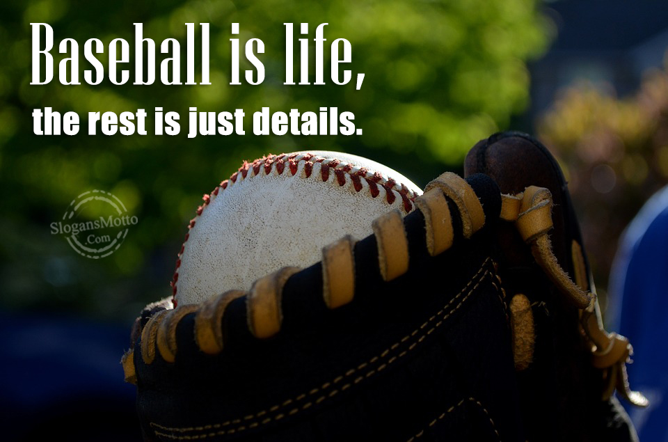 life is a game of baseball essay Learn the history and beginnings of the greatest baseball player who ever played , babe  skills, but he developed a passion and love for the game of baseball.