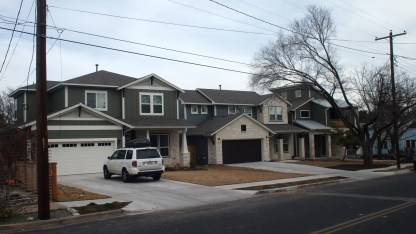 """Combined lot with homes that would be more in """"character"""" with Cedar Park"""